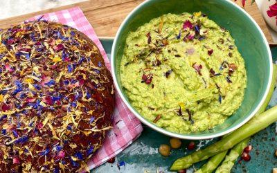 Spargel- Spinat- Hummus